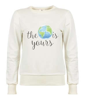 World Is Yours Kadın Sweatshirt