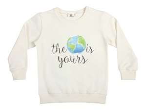 World Is Yours Çocuk Sweatshirt