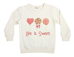 Life is Sweet Çocuk Sweatshirt