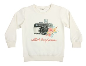 Collect Happiness Çocuk Sweatshirt