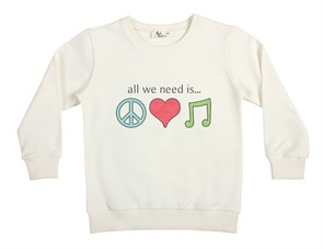 All We Need Çocuk Sweatshirt