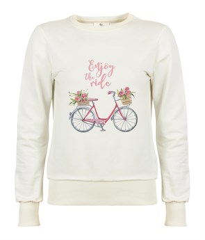 Enjoy The Ride Kadın Sweatshirt
