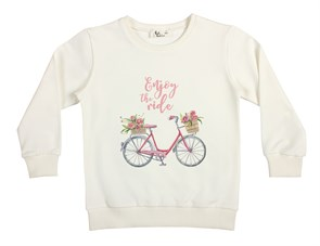 Enjoy The Ride - Pembe Çocuk Sweatshirt